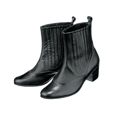 03174L Quadrille boots with elastic side panels