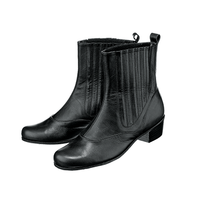 03176L Quadrille boots with elastic side panels
