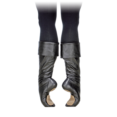 03223 Ballet Boots with Foldover