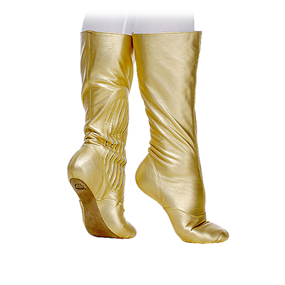 03228 Ballet Boot with Pleats
