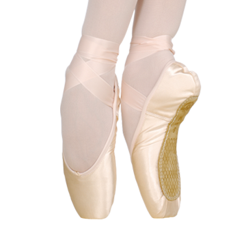 how to draw pointe shoes